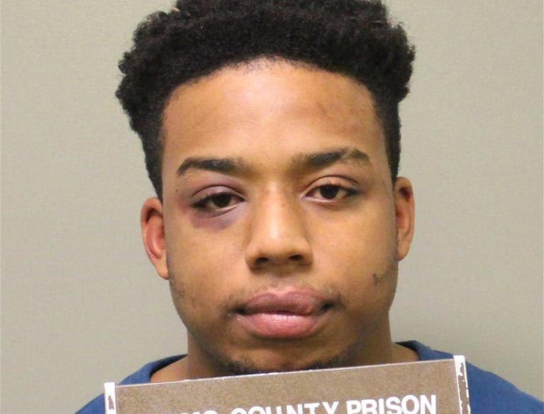 Demitrious Alphonzo Royster, 23, of Walkersville, Maryland, was was charged with aggravated assault, disarming law enforcement officer, DUI, recklessly endangering another person, resisting arrest, fleeing or attempting to elude an officer and multiple traffic citations.