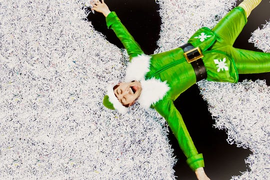 """Toby Yatso stars in Phoenix Theatre's production of """"Elf: The Musical."""""""