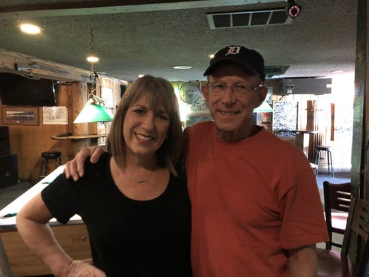 Jon Zich, of Fountain Hills, served three years in the Marine Corps, 1967-70, most of it in Vietnam. Jon drove 45 minutes from Fountain Hills to the Silver Pony to be with Karina Bland on the Marine Corps birthday on Nov. 10.