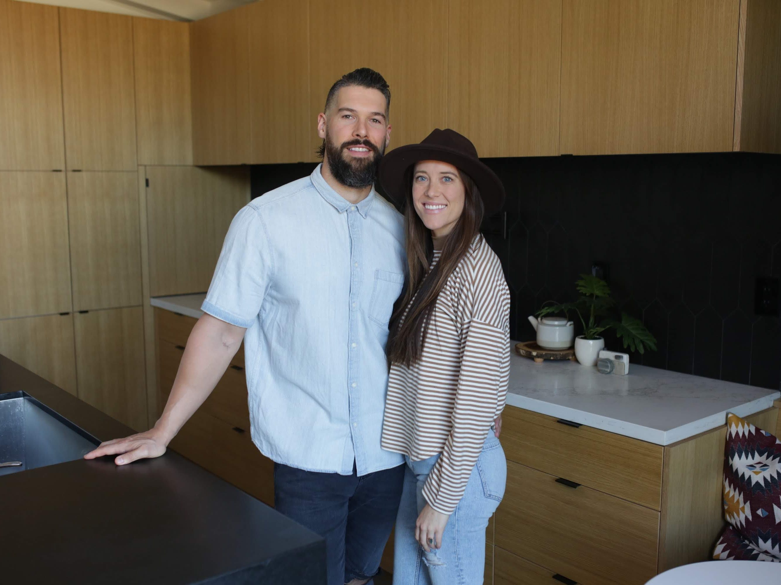 Malcolm Gwilliam and Lea Peterson moved into their Ralph Haver home in the Arcadia area of Phoenix in February 2018.