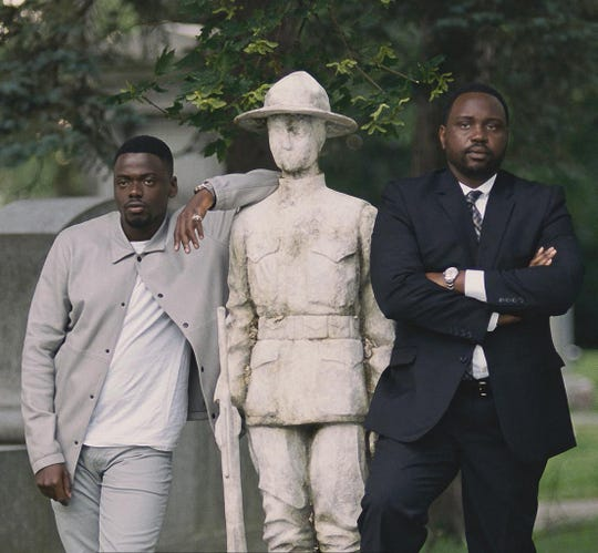 "Daniel Kaluuya (left) and Brian Tyree Henry star in ""Widows."""