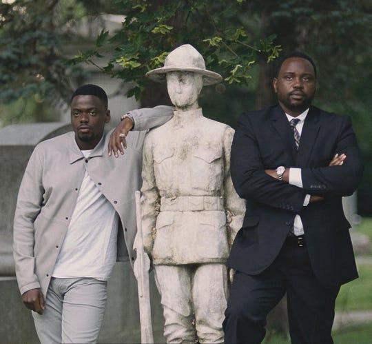 "Daniel Kaluuya (left) and Brian Tyree Henry star in ""Widows."""