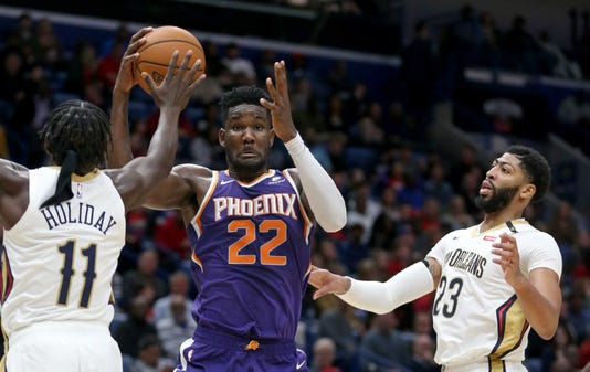 Nba Phoenix Suns At New Orleans Pelicans