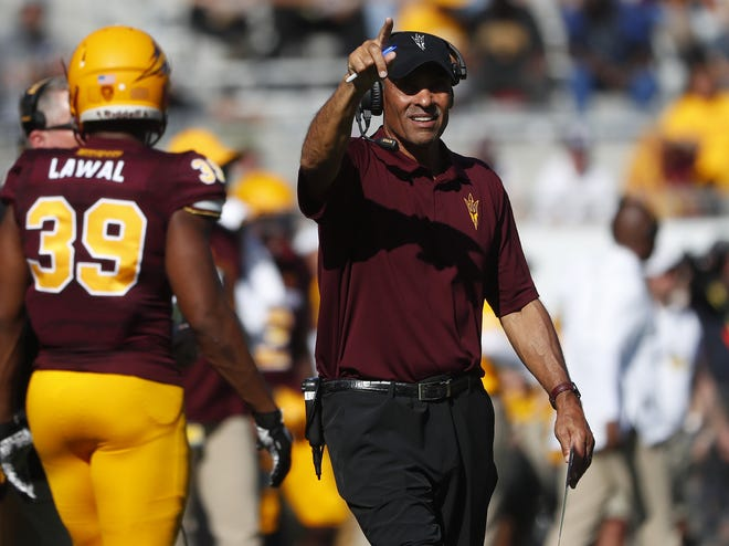 ASU head coach Herm Edwards could lead the Sun Devils to the Pac-12 South title in his first season in Tempe.