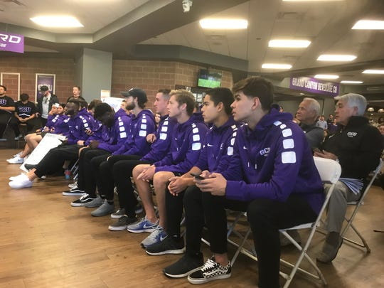 GCU went 12-8 and 6-4 in the WAC, but it went 5-0 against Top 25 opponents:(No. 12 Wisconsin, No. 20 Creighton, No. 25 Seattle, and twice against No. 8 and No. 13 Air Force).