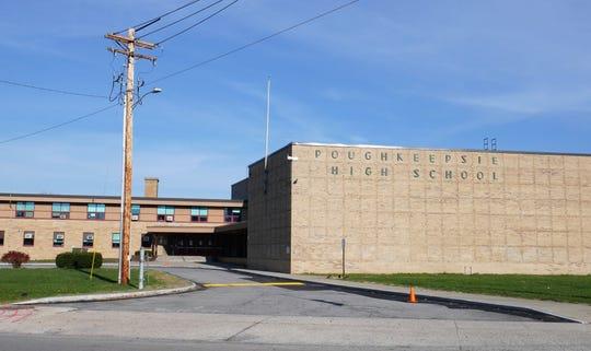 Poughkeepsie High School in the Poughkeepsie City School District, November 2018.