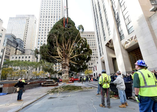 2018 Rockefeller Center Christmas Tree Arrival11