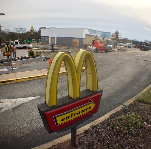 McDonald's restaurants get more than a face lift