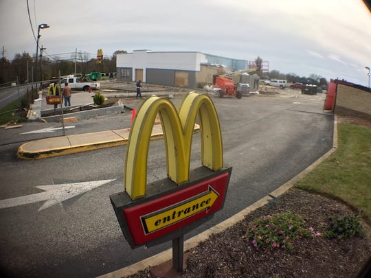 The McDonald's on Philadelphia Avenue in Greene Township is getting a new look and technology.