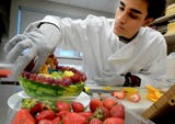 Hanover High culinary arts students advance their skills in the school's expanding culinary program.