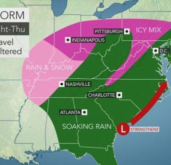 Bundle up: Snow,sleet in Central Pennsylvania on Thursday, AccuWeather says