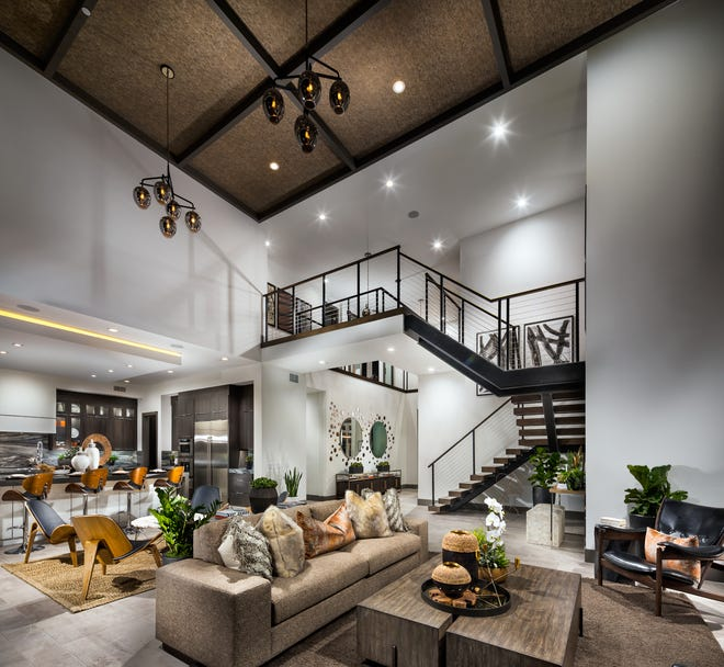 The Toll Brothers Design Studio offers a host of customizing options for homes in the new Latigo community at Rancharrah.