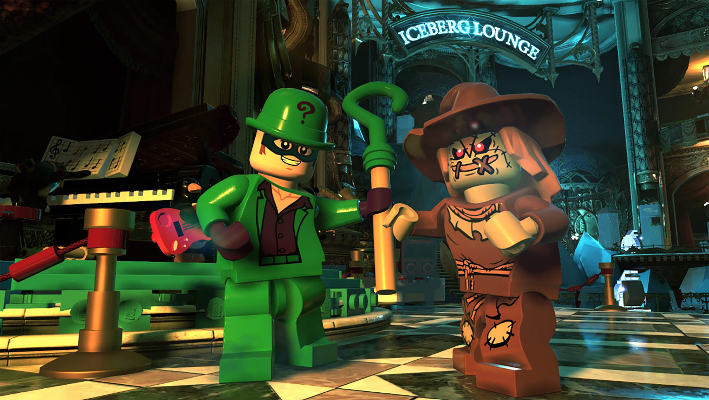 Lego DC Super-Villains for PS4, Switch and Xbox One.