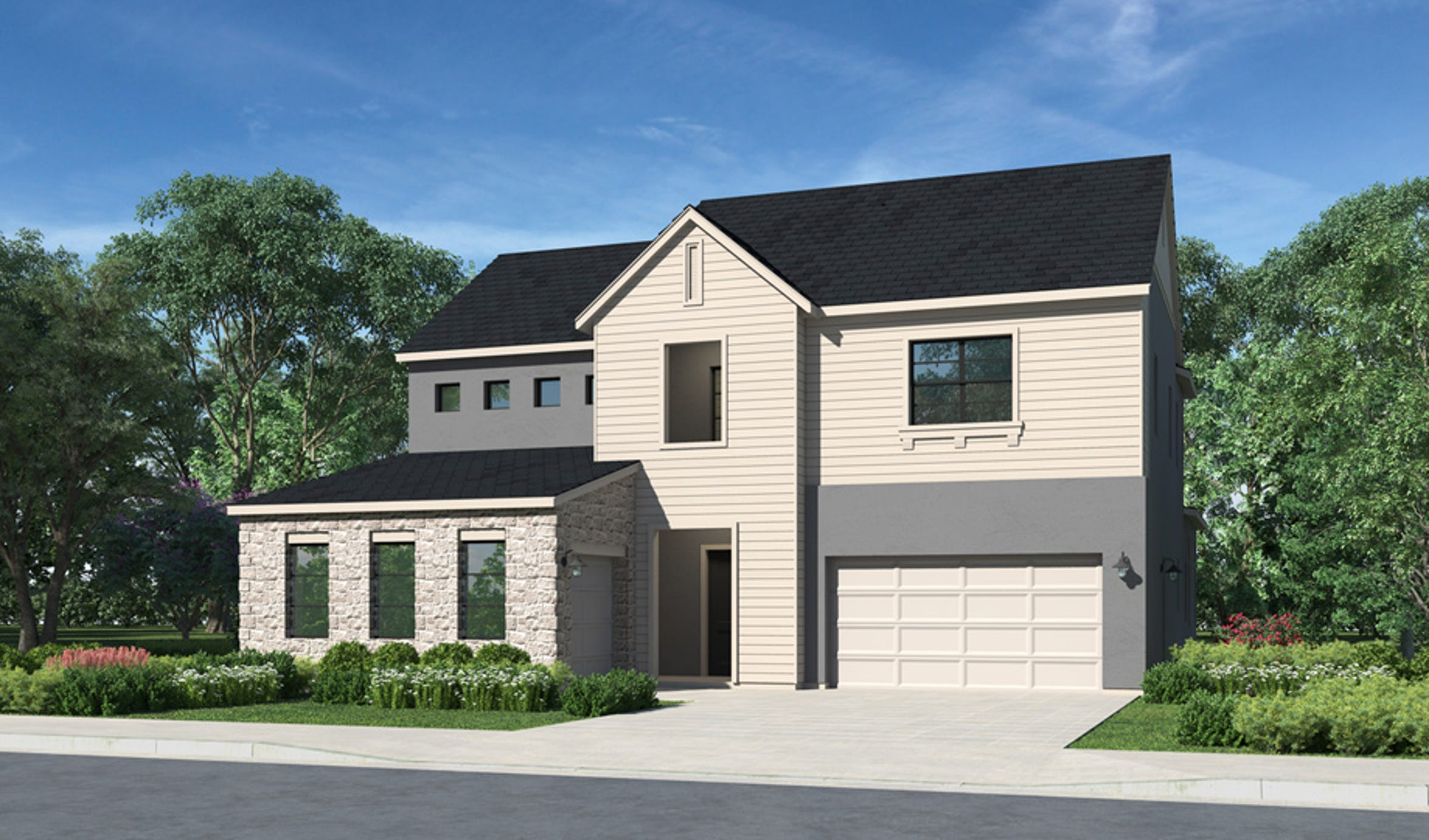 The Cassana, one of five home designs in the new Latigo community at Rancharrah, runs from $842,000, with an optional home office or fifth bedroom.