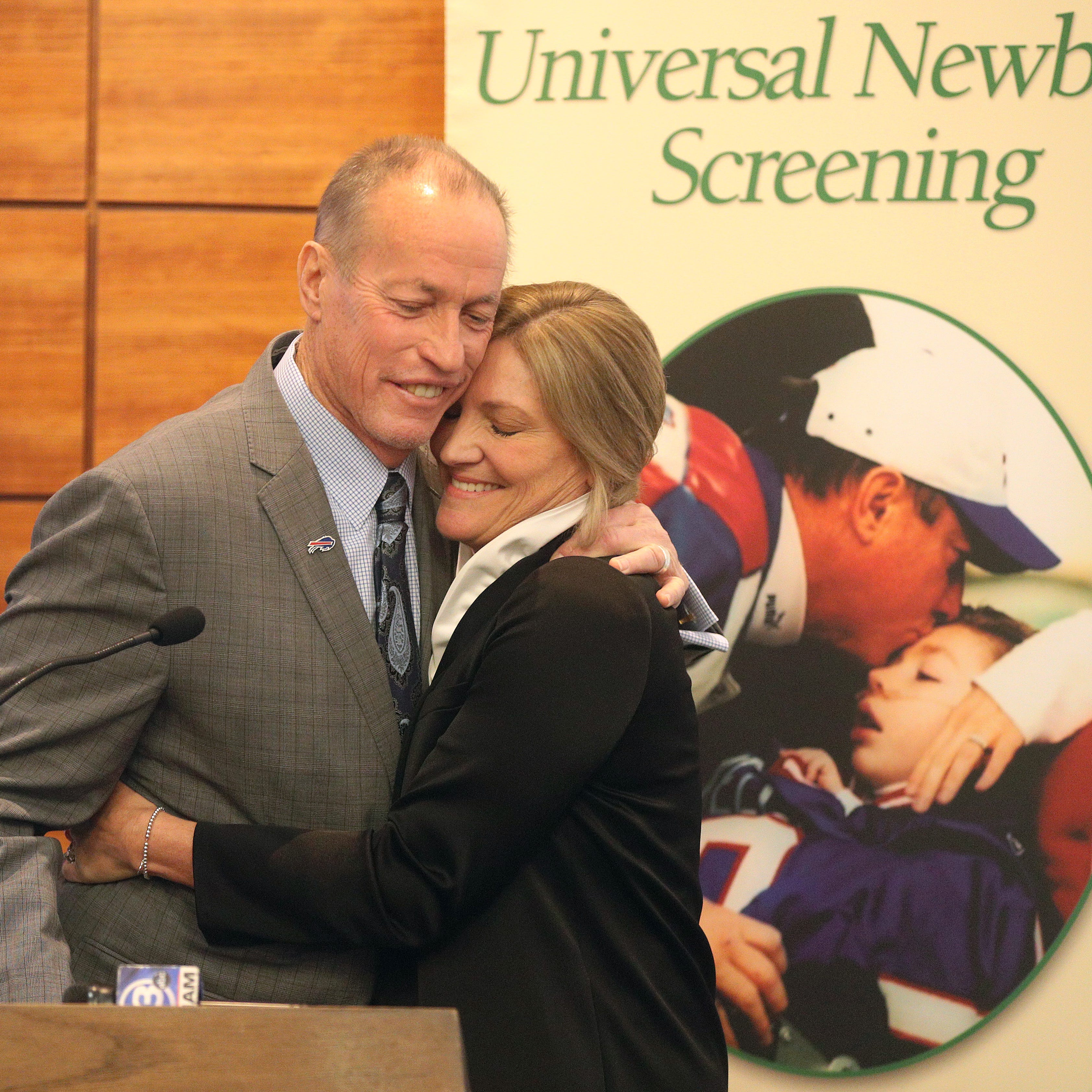 Jim and Jill Kelly team up with Golisano Children's Hospital