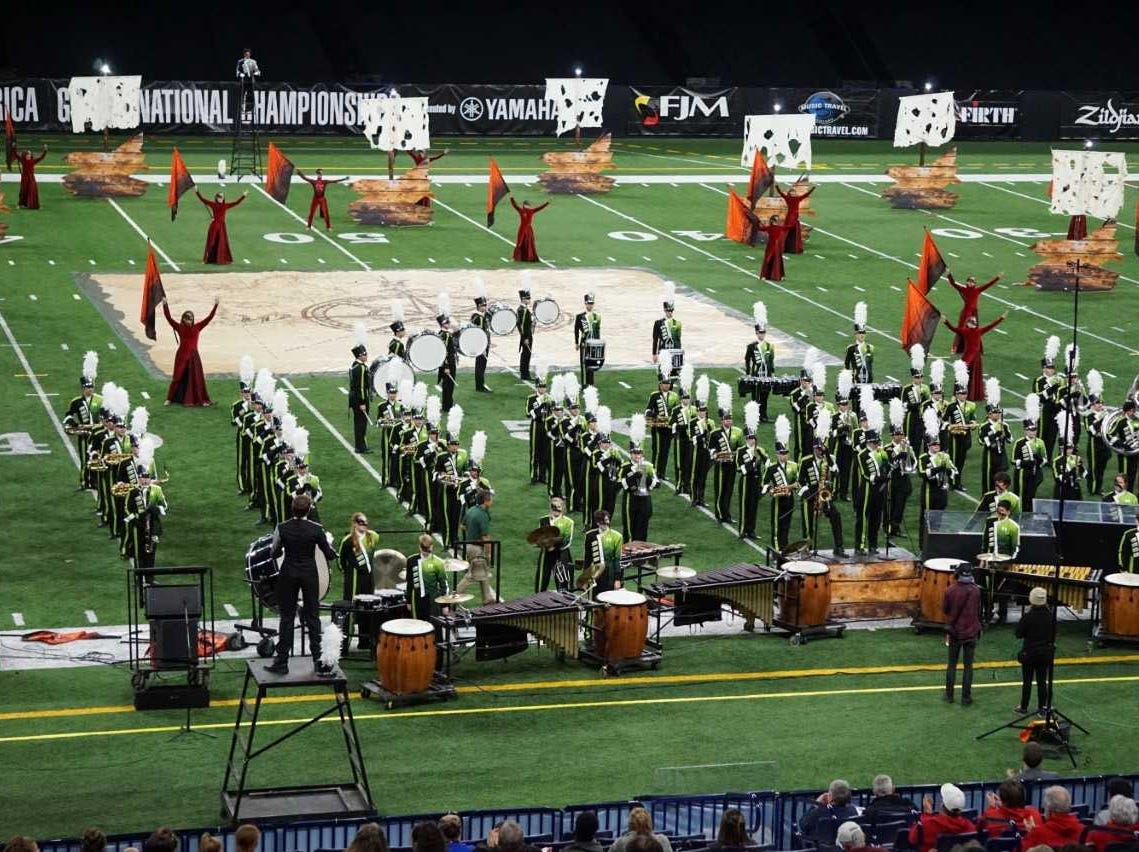West Salem High School first in Oregon to compete in Bands of America Grand Nationals