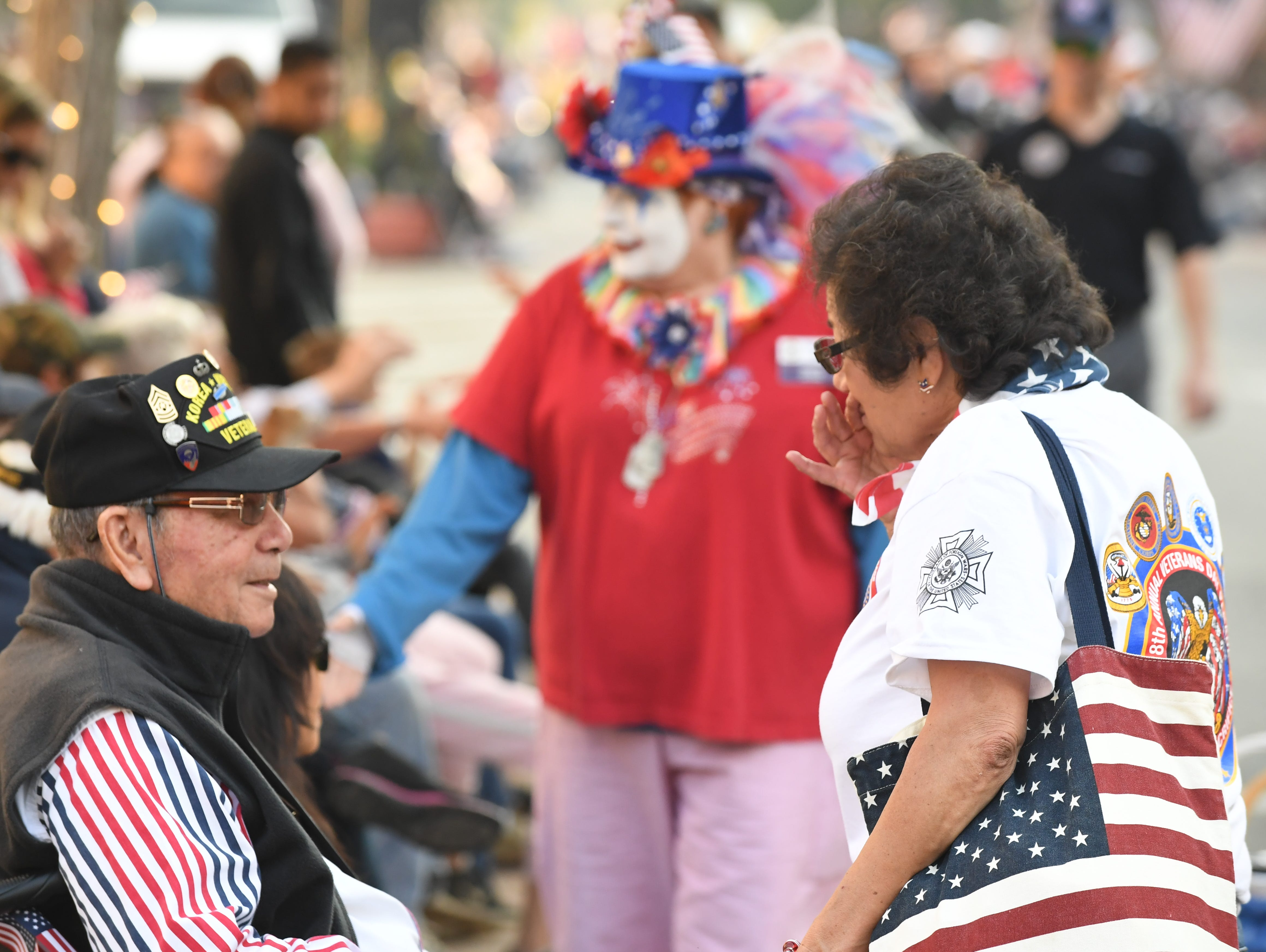 The eighth annual Monterey County Veterans Day Parade went down South Main Street on Sunday as thousands celebrated the national holiday.