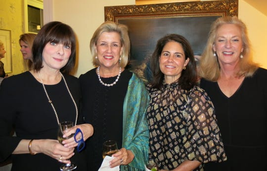Gayla Hargrove, Ginny Murphy, Jemma Sloan, Jeanne Long at engagement party.