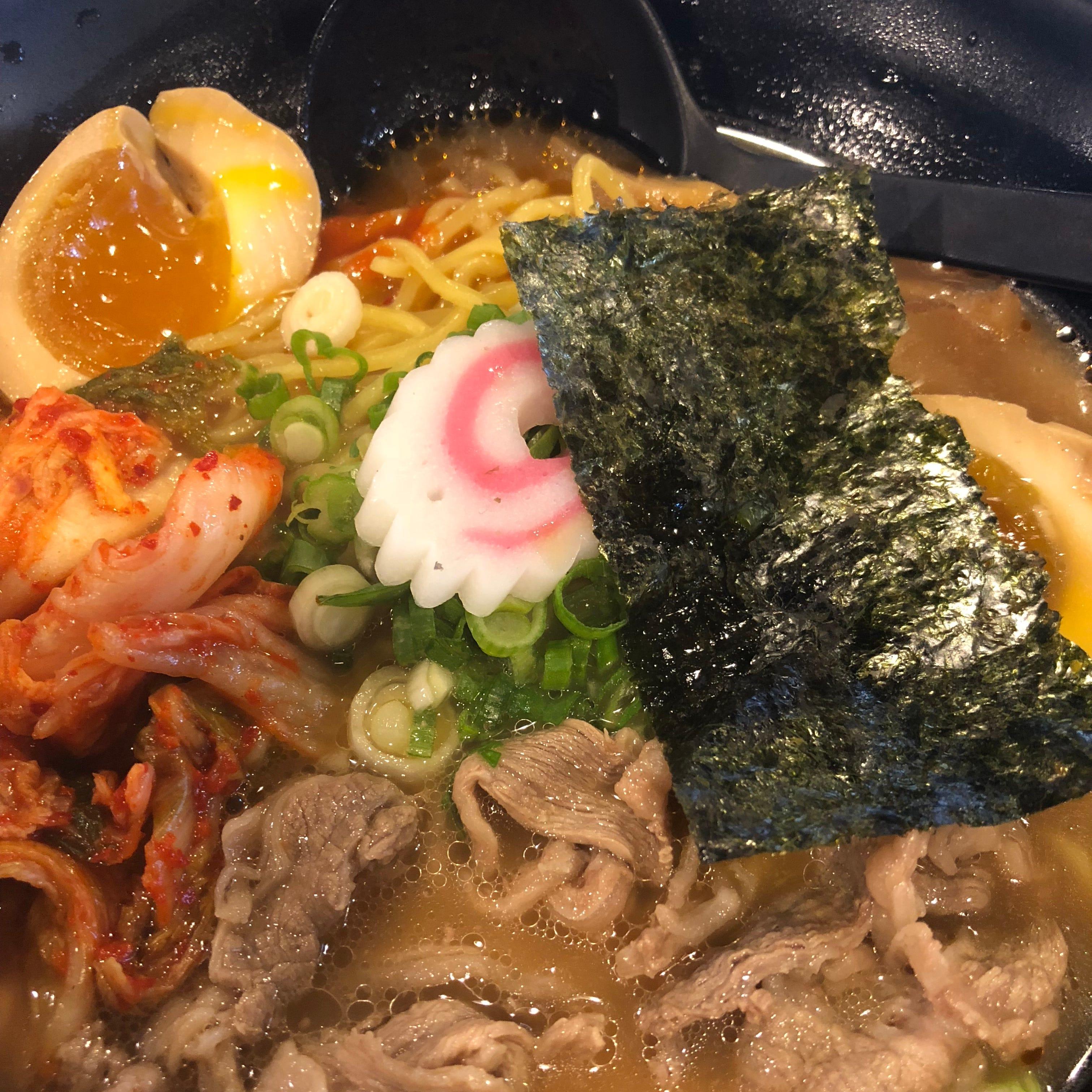 Ramen Fuji's kimchi ramen.