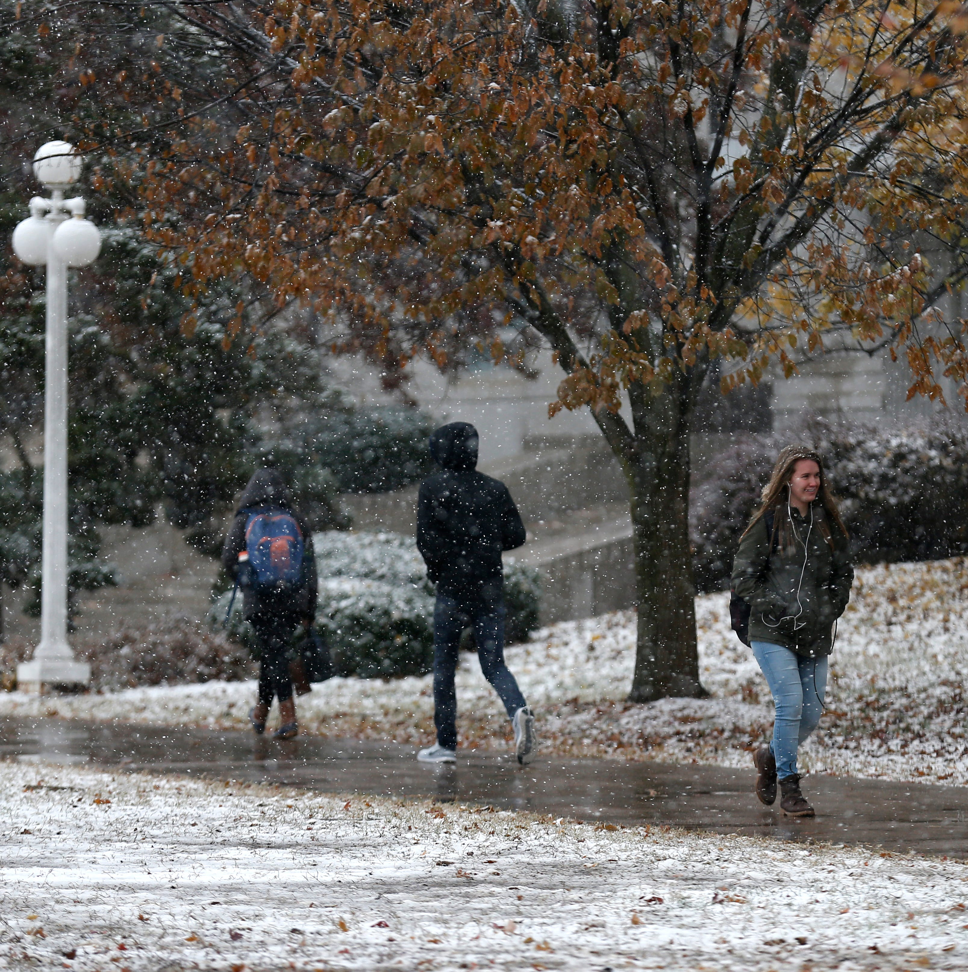 Springfield ties a record after 1.5 inches of snow fall on Monday