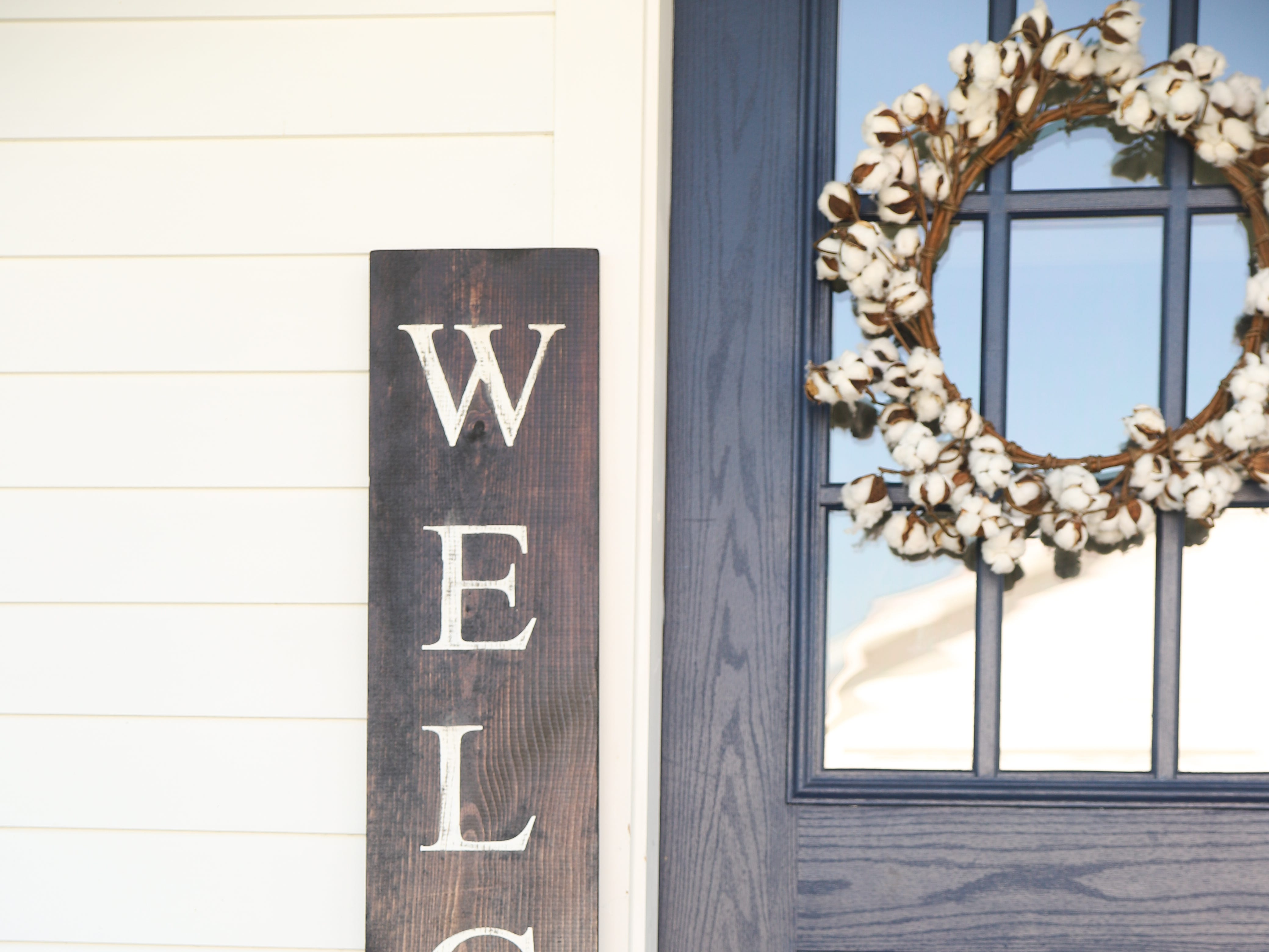 The Welcome Sign is the best-selling item made by hardwood craftsman Aaron Black, who runs his Native Range line from his north Springfield home. Priced at $19.99 to $54.99, depending on size.