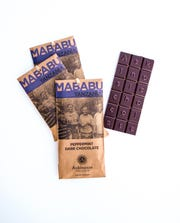 Askinosie Chocolate added a Peppermint Dark Chocolate Bar ($8.50) in October. The chocolate comes from a woman-led farmer group in Tanzania.