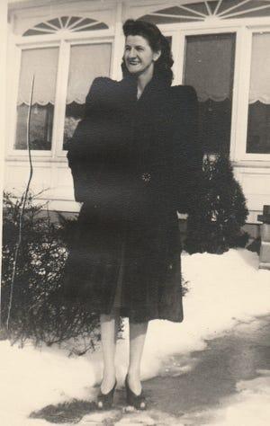 Ethel Kay Sandridge, early 1940s.