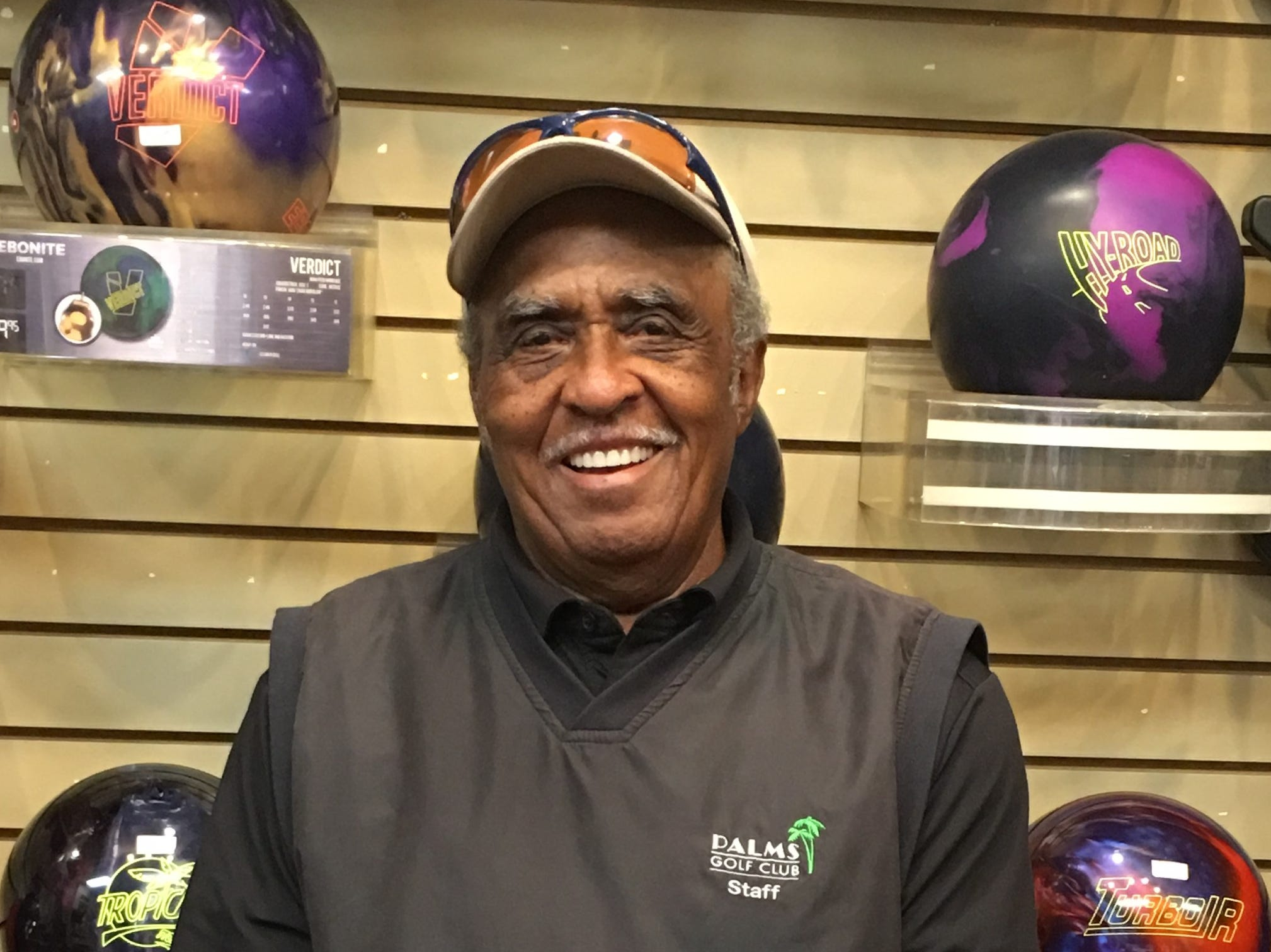 Mesquite bowler rolls 603 series — five days after turning 85