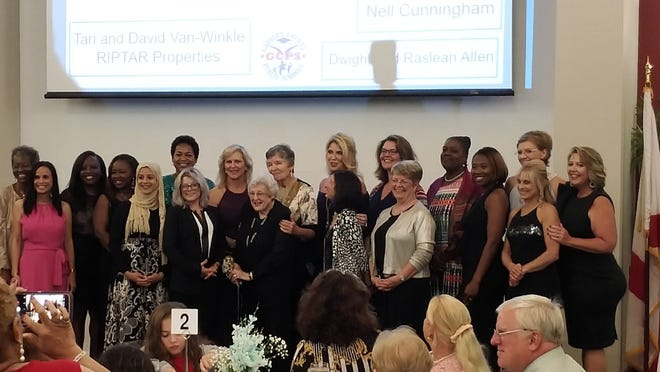 Women of Distinction were honored at Awards Gala by Girl Scouts on Nov. 8.