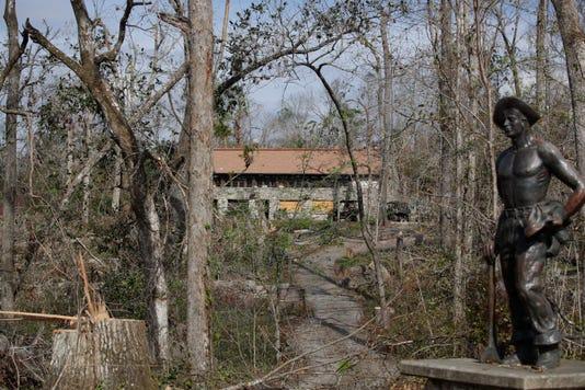 Florida Caverns State Park Hurricane Damage 110918 Ts 012a