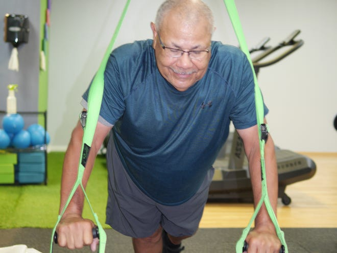 Terry Steaple, 68, has been exercising consistently for the last 10 years.