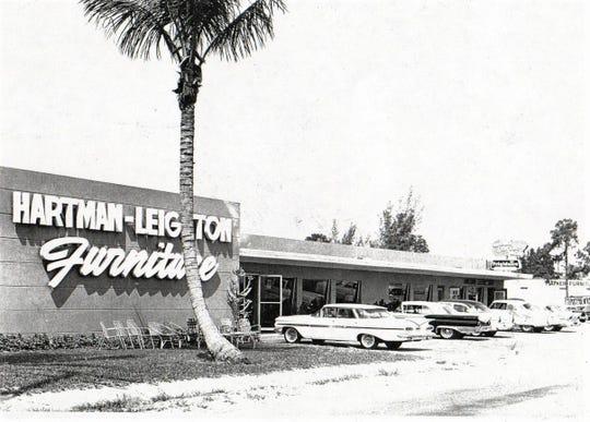 Hartman-Leighton Furniture Store in 1959.