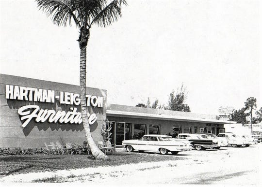 Hartman-Leighton Furniture Store in 1959.