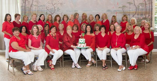 The Holiday Home Tour Committee -- 36 strong -- works for months on the Dec. 2 event.