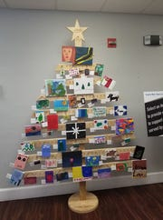 A tree of artwork created by children undergoing treatment at Tykes & Teens will be on display with art available for purchase at the Festival of Trees.