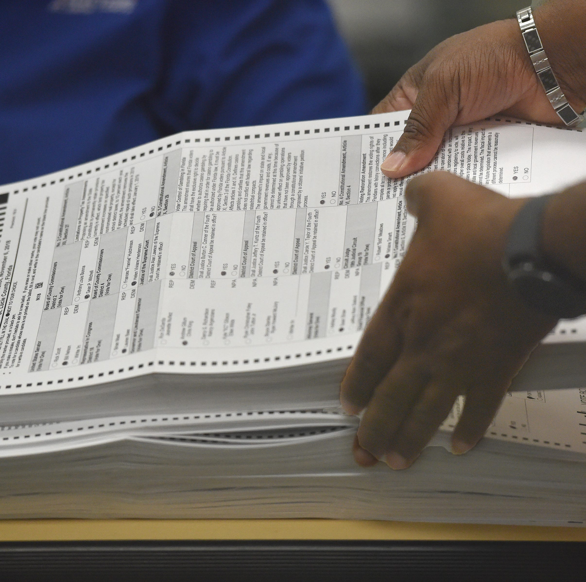 Florida recount update: Machine recounts underway. Some counties might not finish in time