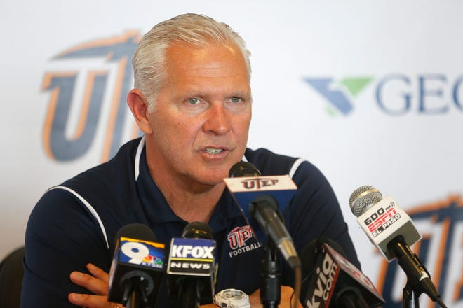 UTEP head coach Dana Dimel discusses his teams loss against Middle Tennessee Saturday afternoon then gave a scouting report on Western Kentucky who is the Miners next opponent this coming Saturday.