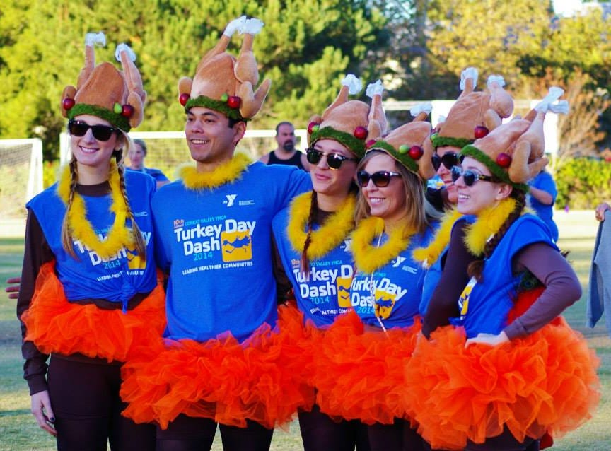 Check out the Conejo Valley YMCA's Turkey Day Dash