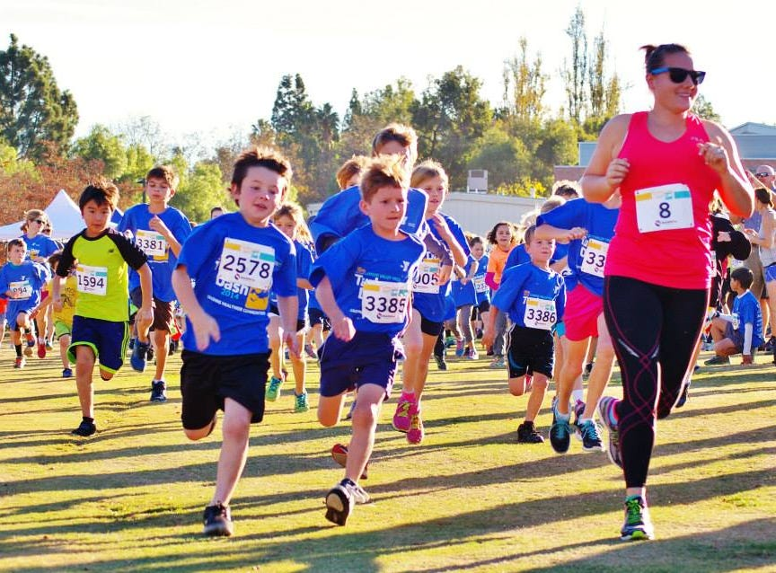 Runners burn off calories before eating a big Thanksgiving meal during the Conejo Valley YMCA's annual Turkey Day Dash. This is the 14th year of the run, which will take place Nov. 22 at California Lutheran University in Thousand Oaks.