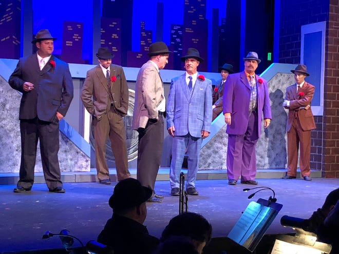 "The Actors' Repertory Theatre of Simi, shown here, is performing ""Guys and Dolls."" The Conejo Players Theatre is also putting on the play in Thousand Oaks."