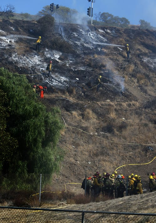 Simi Valley Brush Fire Monday 05