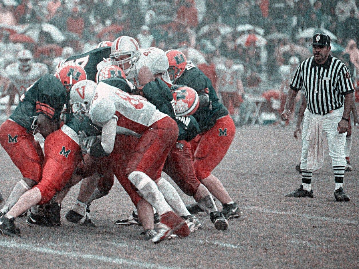 Football: Vineland vs. Millville in 1999.