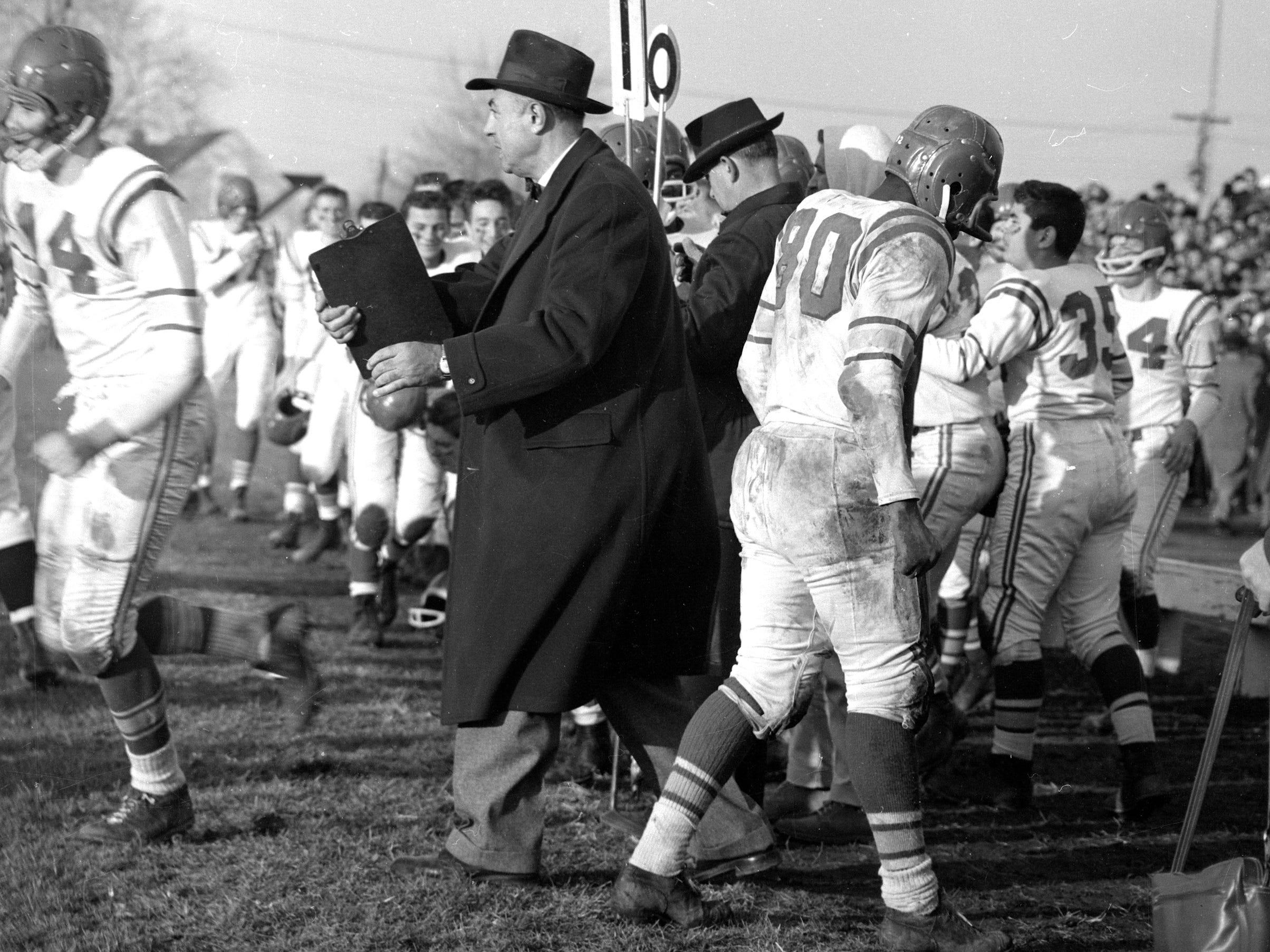 Football: Vineland vs. Millville 1960