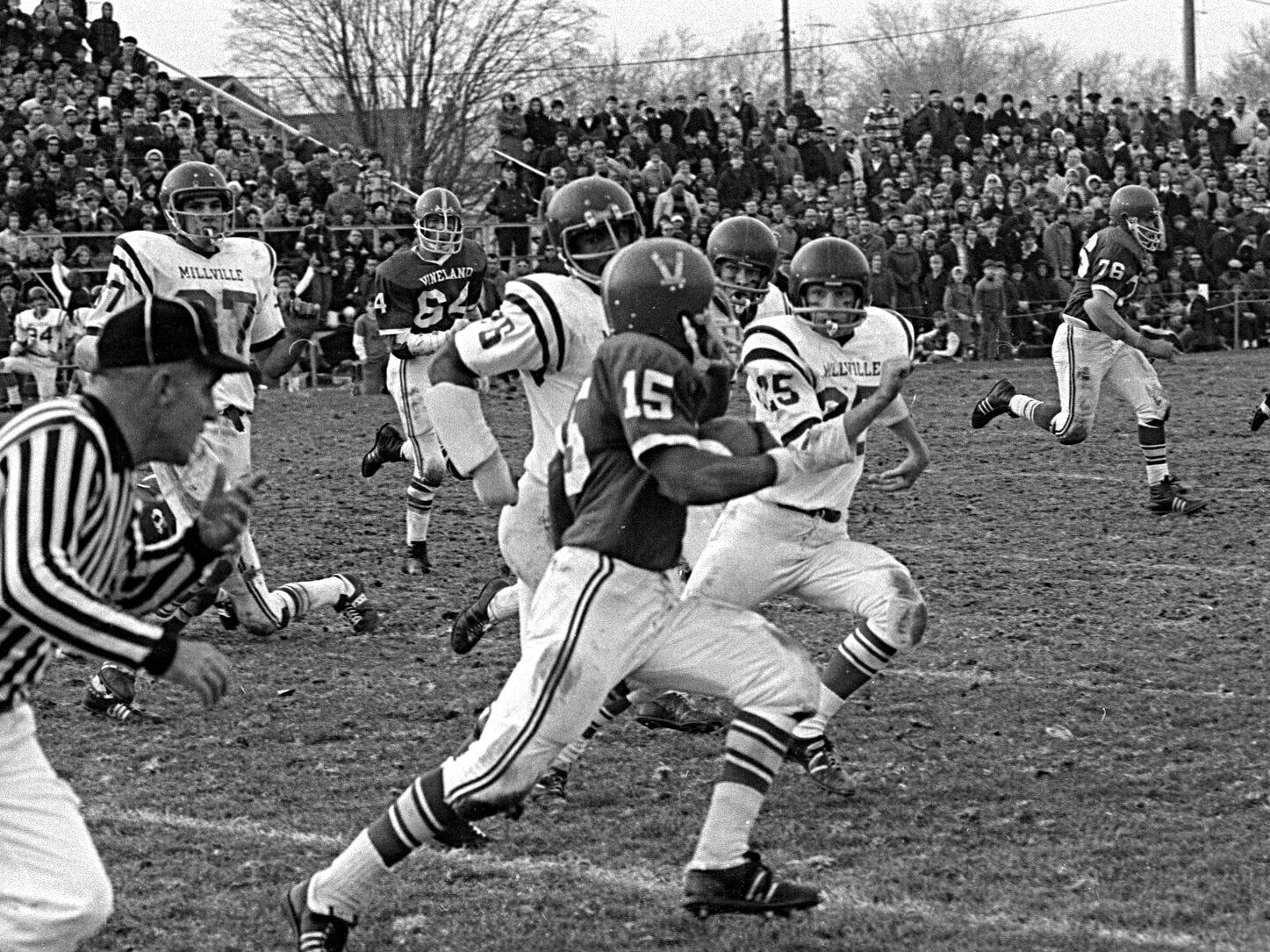 Football: Vineland vs. Millville 1969