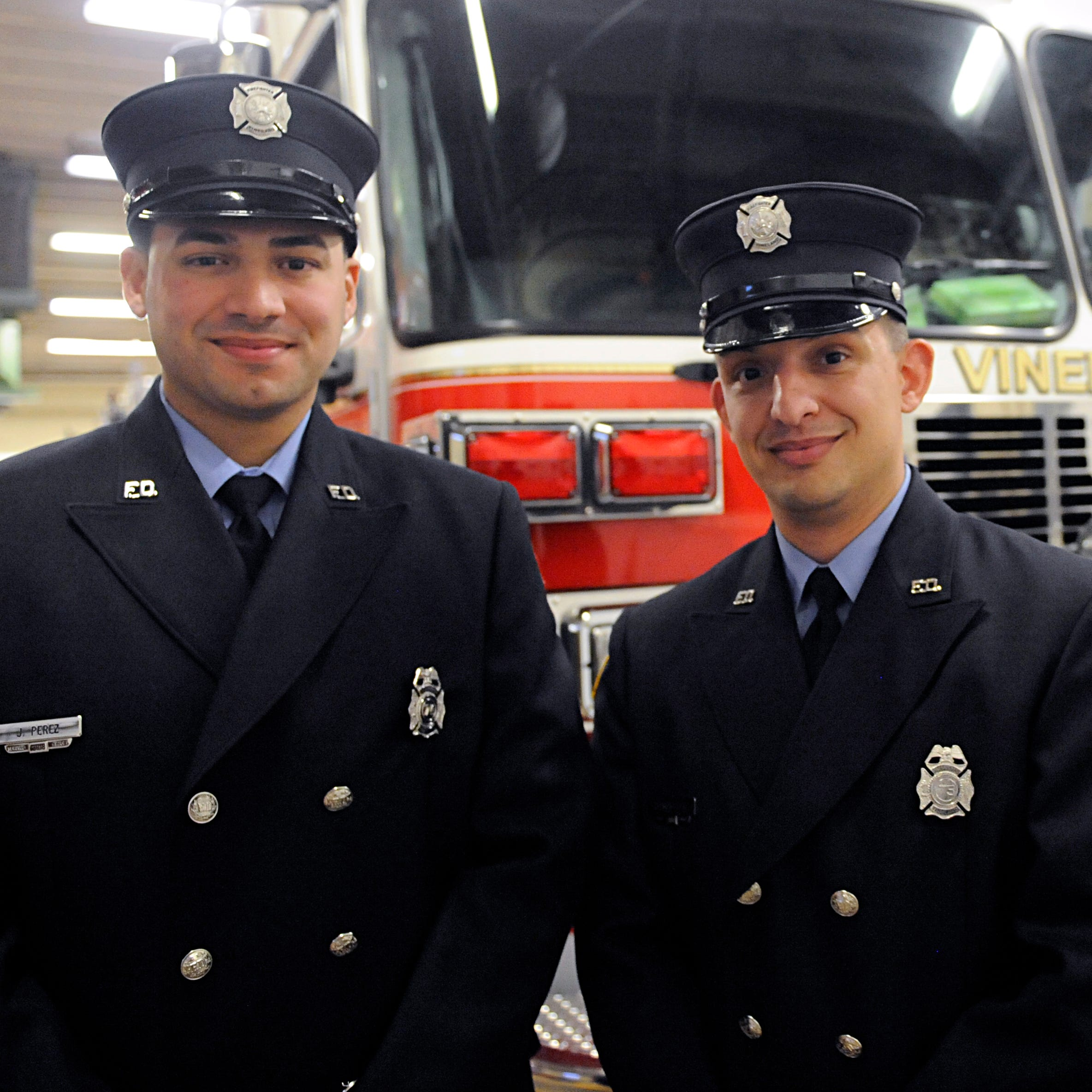 Vineland Fire Department adds two to crew