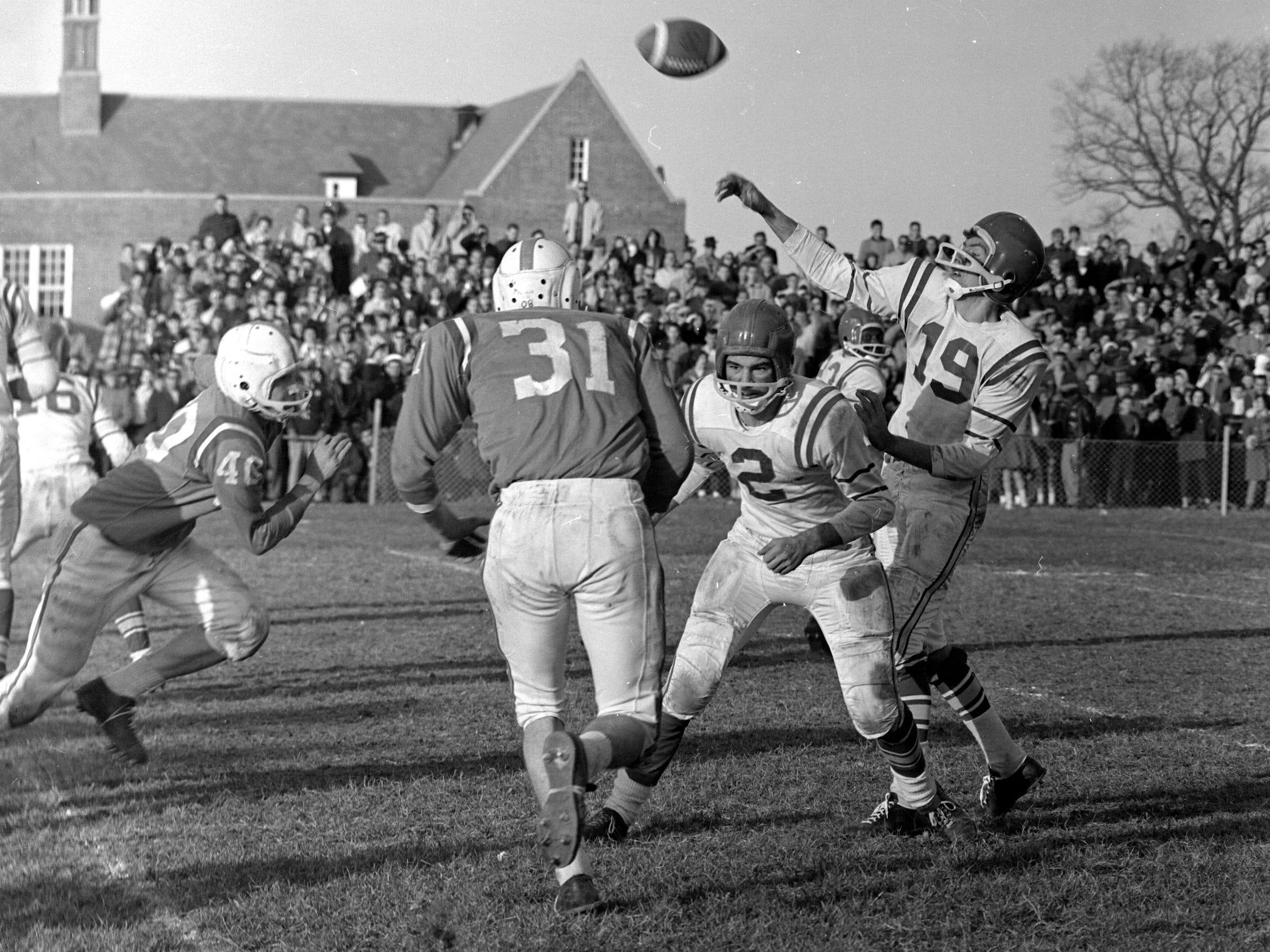 Football: Vineland vs. Millville 1960.