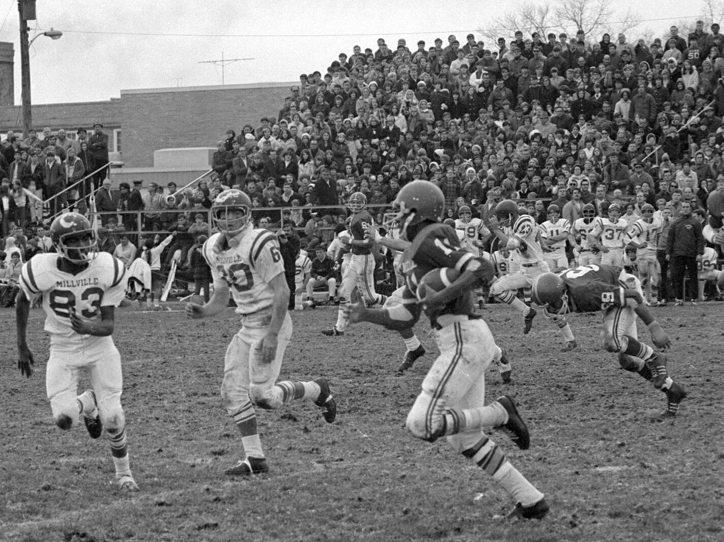 Football Vineland vs Millville 1969