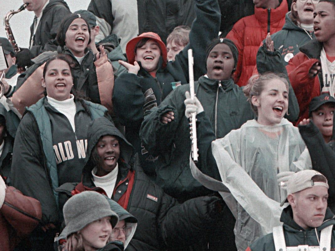 Football: Vineland vs. Millville in 1998.