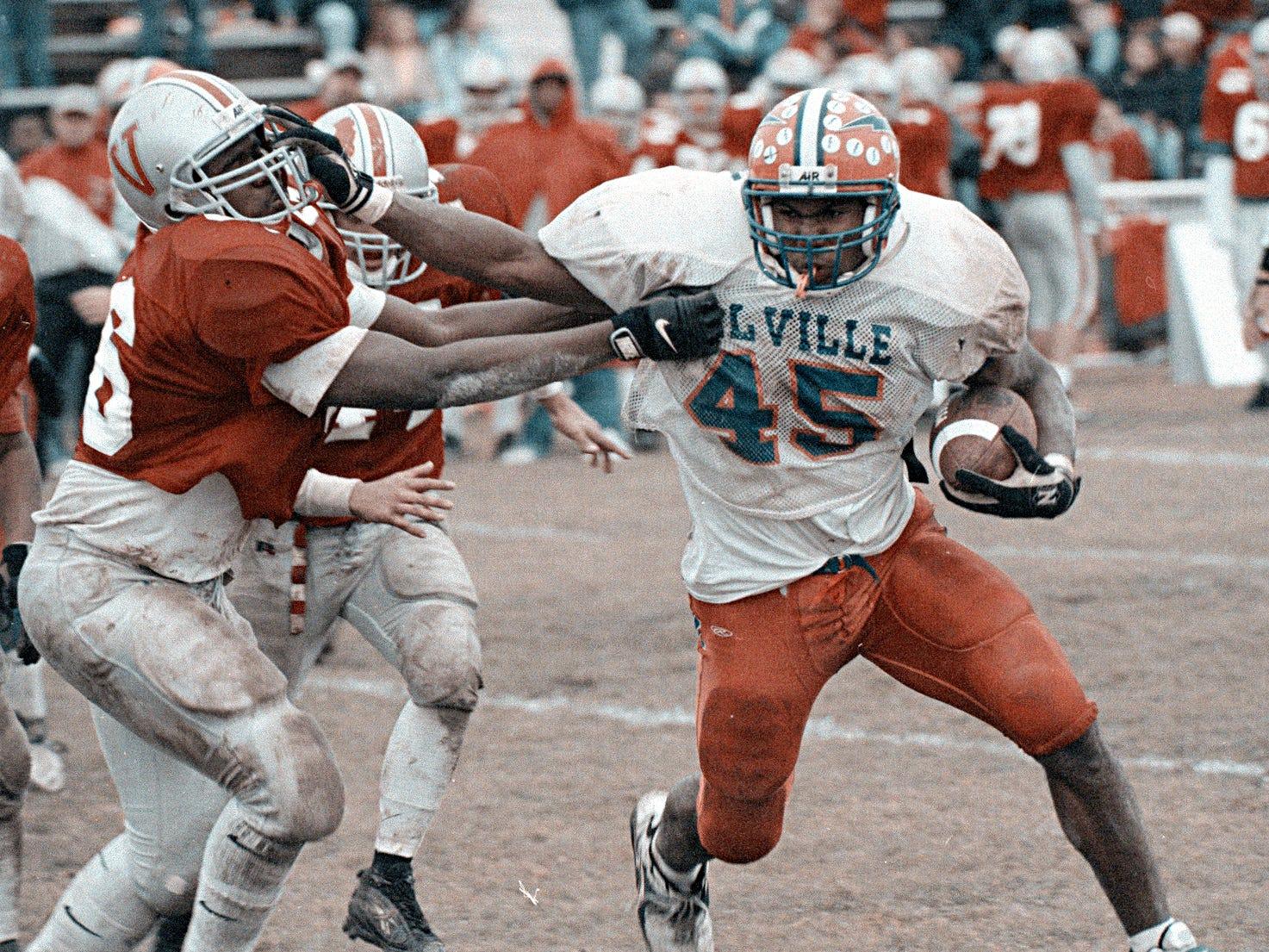 Football: Vineland vs. Millville in 1998