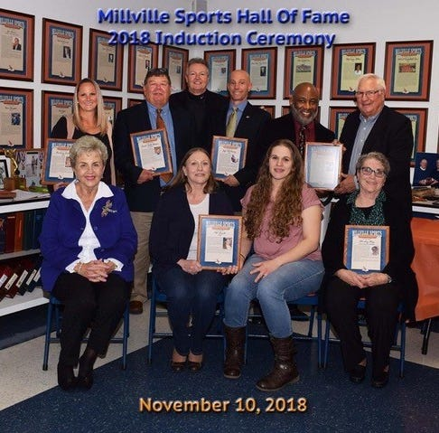 Millville Sports Hall of Fame inducts Class of 2018